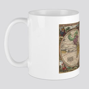 World Map 1657 Mug